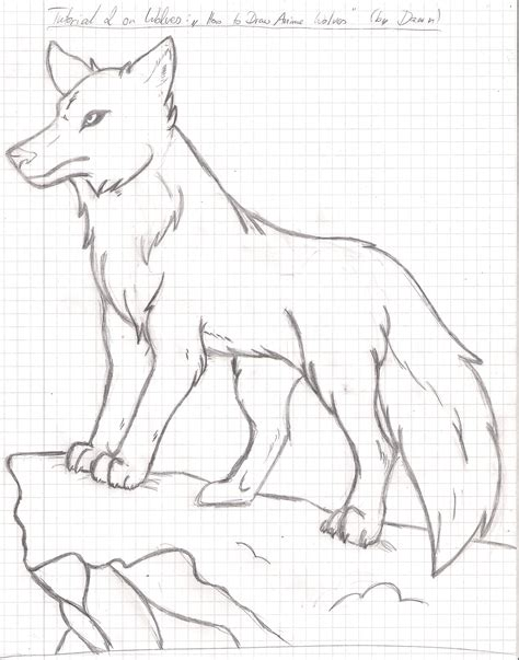 Best Anime Wolf Drawings Ideas And Images On Bing Find What You