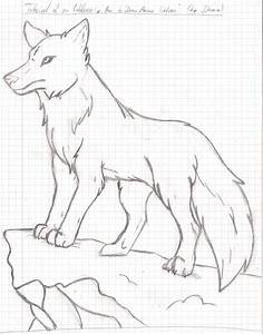 Anime Wolf Drawing - Pencil_Guy © 2018 - Oct 3, 2012