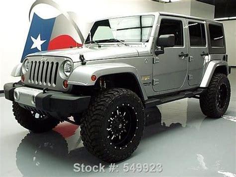 jeep wrangler 4 door silver silver sahara 4 door sweet wheels jeep wrangler