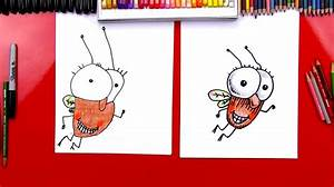 How To Draw Fly Guy Art For Kids Hub