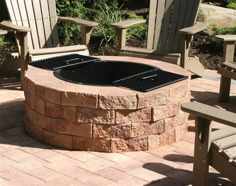 Kitchen Design Ideas Houzz - firepit kit traditional patio new york by nicolock paving stones and retaining walls