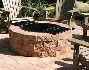 Firepit Kit - Traditional - Patio - new york - by Nicolock