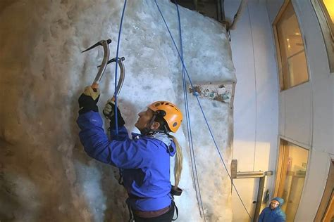 Want Try Indoor Ice Rock Climbing Manchester What