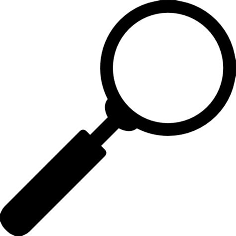 Search Black by Magnifying Icon