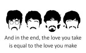 Beatles Abbey Road Black and White