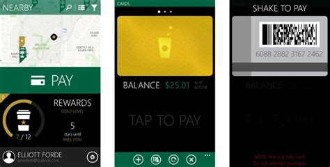pay for your latte with mybucks a new starbucks app for windows phone windows central