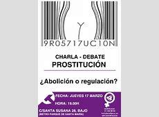Debate sobre prostitución ¿abolición o regulación