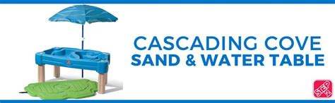 step2 cascading cove sand and water table amazon com step2 cascading cove sand and water table