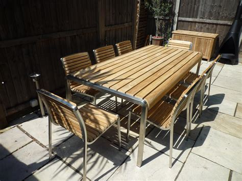68 Seater Teakstainless Steel Outdoor Set  The Santa Monica. Patio Furniture Table Glass Replacement. Resin Wicker Patio Furniture Brands. Plans Patio Cover. Metal Patio Lawn Chairs. Deck And Patio Decorating Ideas. Woodard Patio Furniture Warranty. Ikea Small Patio Table And Chairs. Patio Outside Lights