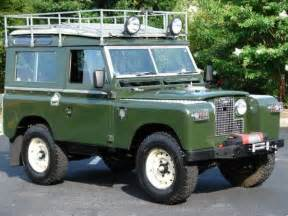 1959 Land Rover Series Ii - Information And Photos