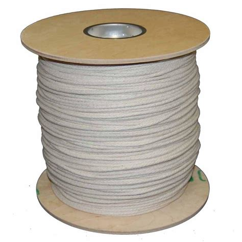 home depot l cord t w evans cordage 6 3 16 in x 1200 ft buffalo cotton