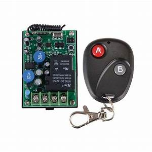 AC 220V 30A RF Wireless Remote Control Delay Time Signal ...