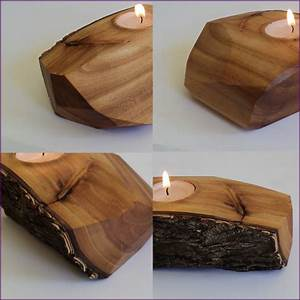 elm wood live edge tea light candle holder eclectic With kitchen cabinets lowes with vintage tea light candle holders