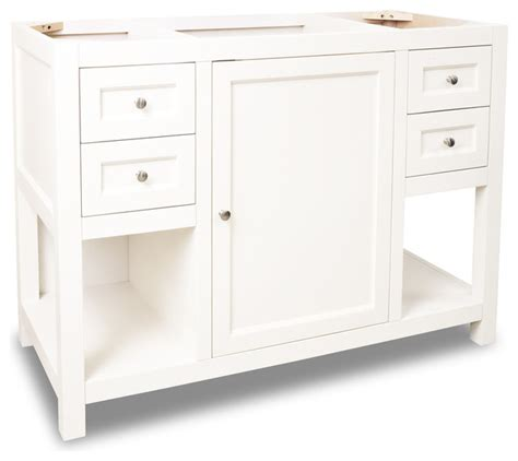 vanities without sink top lyn vanity without top 47 5 quot transitional bathroom