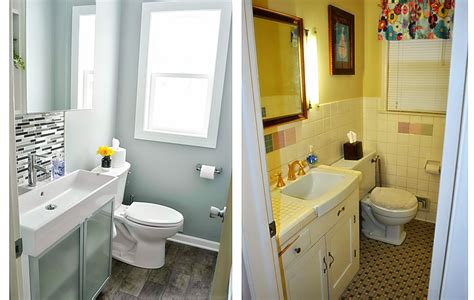 bathroom makeovers ideas small bathroom makeovers before and after home