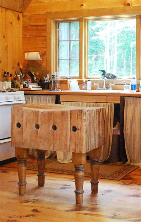 kitchen island antique antique butcher block kitchen islands kitcheniac 1834