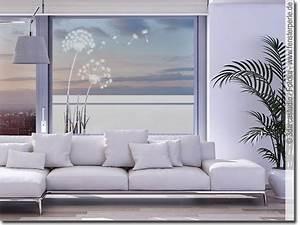 Klebefolie Fenster Sichtschutz : fensterfolie pusteblume ~ Watch28wear.com Haus und Dekorationen