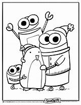 Storybots Coloring Sheets Pages Sheet Activity Template Sketch sketch template