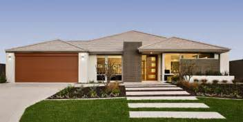 4 bedroom house plans one story home buyers perth santa fe display home affordable