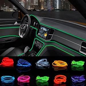 Car Styling 2M Car Interior Light Ambient Light Cold Light