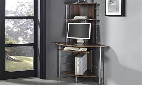 how tall is a desk home computer desk groupon goods