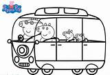 Peppa Pig Coloring Pages Printable Camping Papa Traveling Scribblefun Colouring Sheets Books Template Sketch Anywhere Wont Head Unicorn Templates Mama sketch template