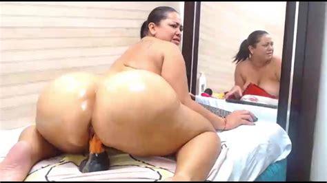 Big Ass Latina Webcam Dildo