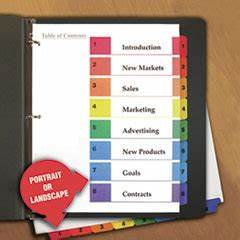 how to use avery templates to customize discount 3 ring With avery 3 ring binder dividers