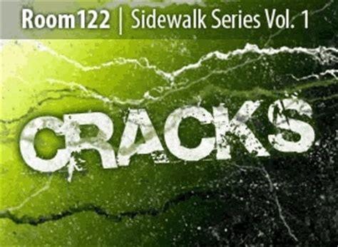 sidewalk series cracks photoshop brushes  photoshop