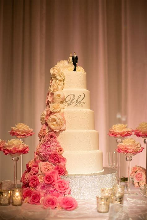 Pink And White Wedding With Ombré Details At Montage Laguna