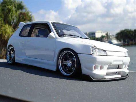peugeot  gti kit body solido diecast model car