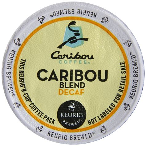 Most of the time, it is pretty flavorless. Keurig, Caribou Decaf Coffee, Caribou Blend, K-Cup packs, 48-Count - Walmart.com - Walmart.com