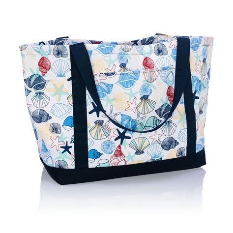 saltwater shells coastal carry    gifts  delightful   bag