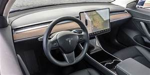 Tesla Model 3 design, interior and technical specifications