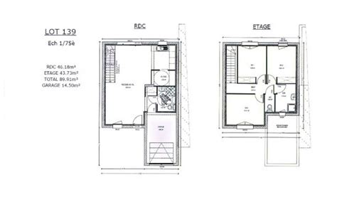les 3 chambres plan maison 1 chambre esquisse 3d plan de maison tage