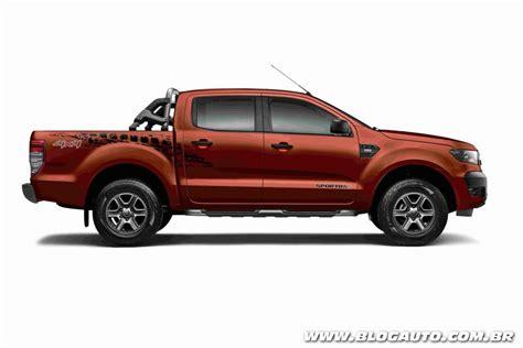 Ford Ranger 2018 Traz Série Sportrac E Novos Itens De