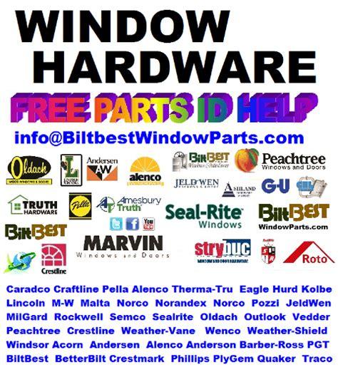 biltbest crestline peachtree vetter hurd replacement hardware sash kits weatherstrip glazing