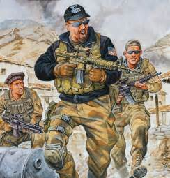 Special Forces in Afghanistan War 2001