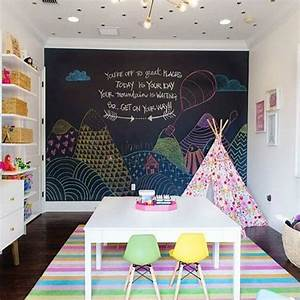 playrooms chalkboard walls and chalkboards on pinterest With lets play with cute room ideas