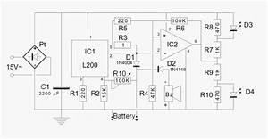 Carregador De Baterias 12v Com L200 E 741