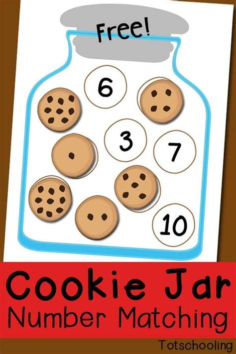 cookie jar number matching free printable numbers 403 | 6b7f5b1a61b097445f5ac3453222131b