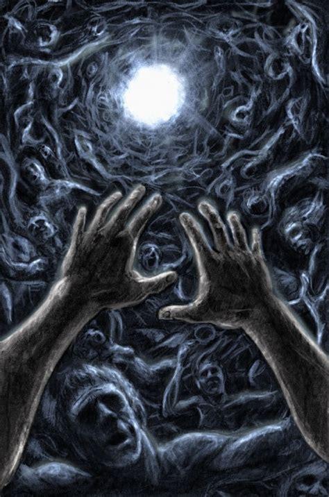 terrifying examples  horror digital art creativefan