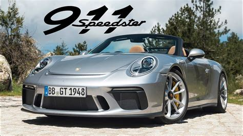 porsche  speedster road review carfection  youtube