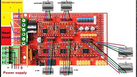 How Wire Printer Arduino Ramps Stepper