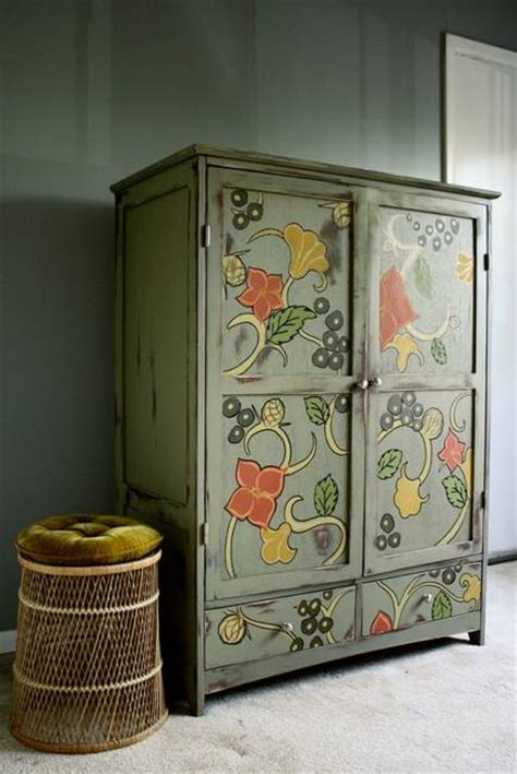 Furniture Decoration by 22 Inspirations For Wood Furniture Decoration With Paint