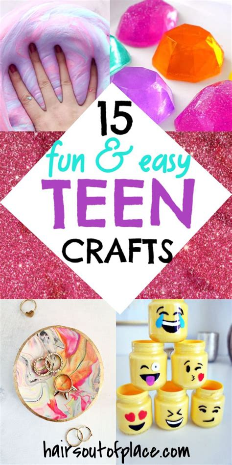 fun crafts  teens   bring  thier