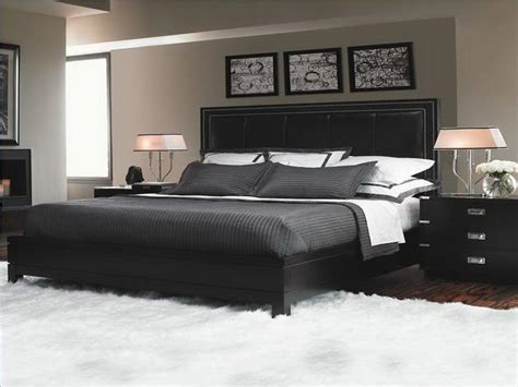 Black Furniture Bedroom Ideas For Neutral Room Theme