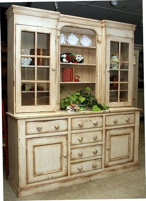 country style hutches  buffets pc country style