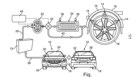 Holme 1 Touch Heater Wiring Diagram by Mercedes Patents Water Cooling System For Car Tires
