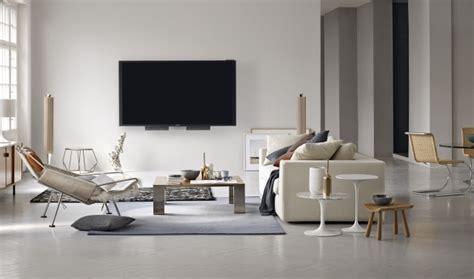 tapis gris salon qui rend latmosphere elegante  moderne